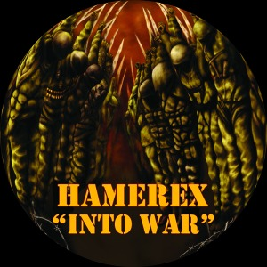 CD top print for Hamerex' Into War EP.